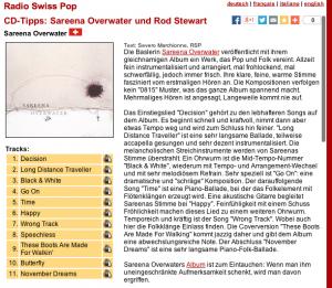 Radie Swiss Pop - Review